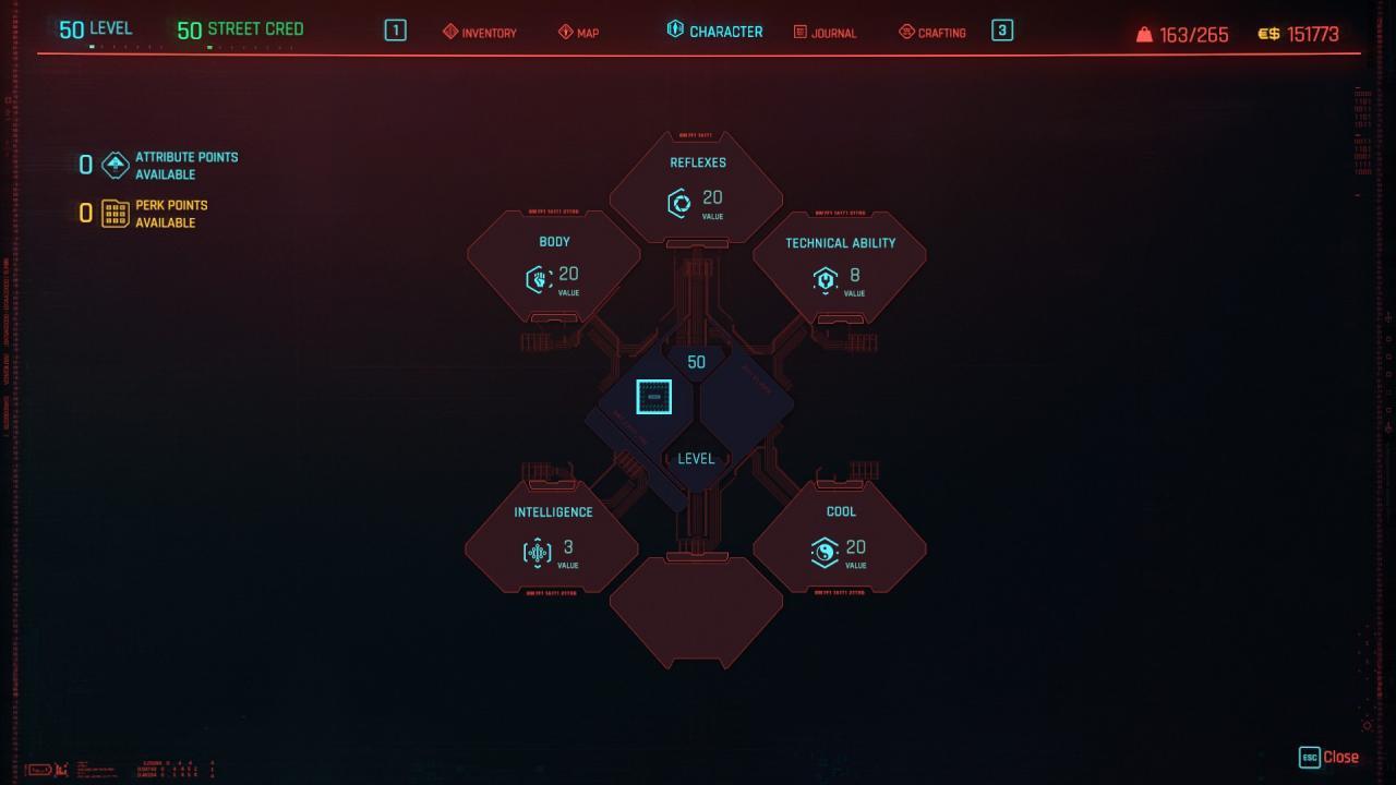 Cyberpunk 2077 The Bladerunner Build