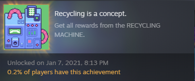 OMORI Recycling Machine Mini Guide
