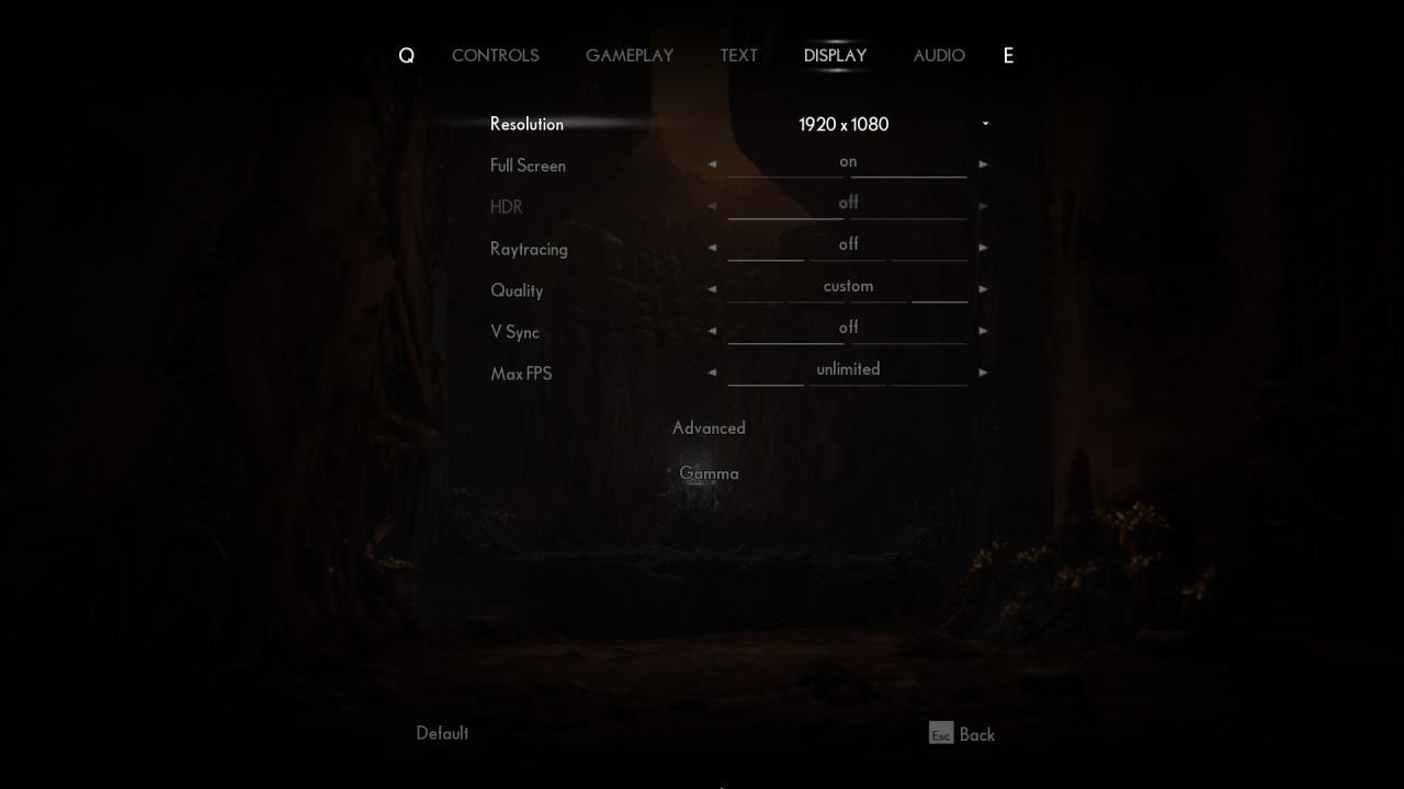 The Medium: Optimal settings for Low PC Builds (Balancing Quality, Rendering & Performance Stability)