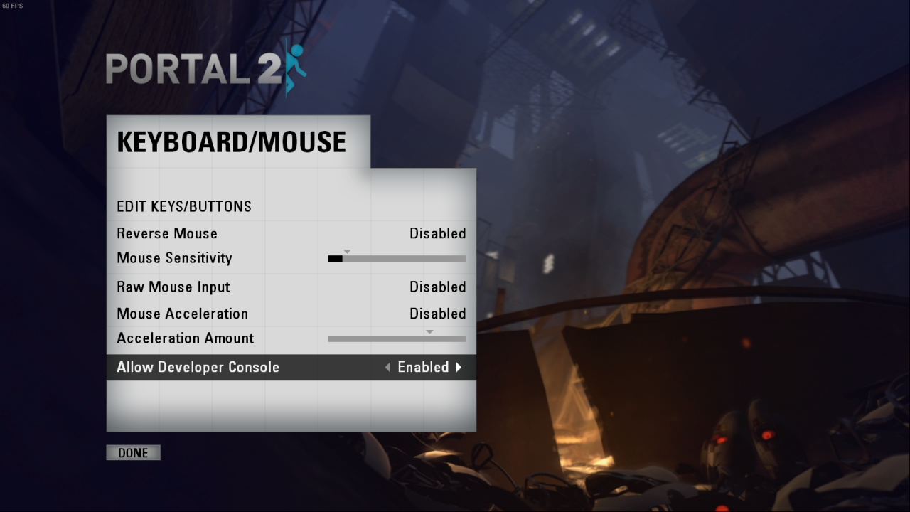Portal 2: Console Commands and Cheats