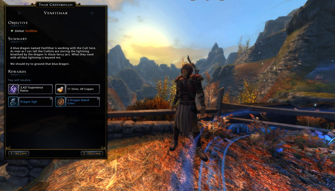 Neverwinter Rothe Valley Quest - Venfithar Guide
