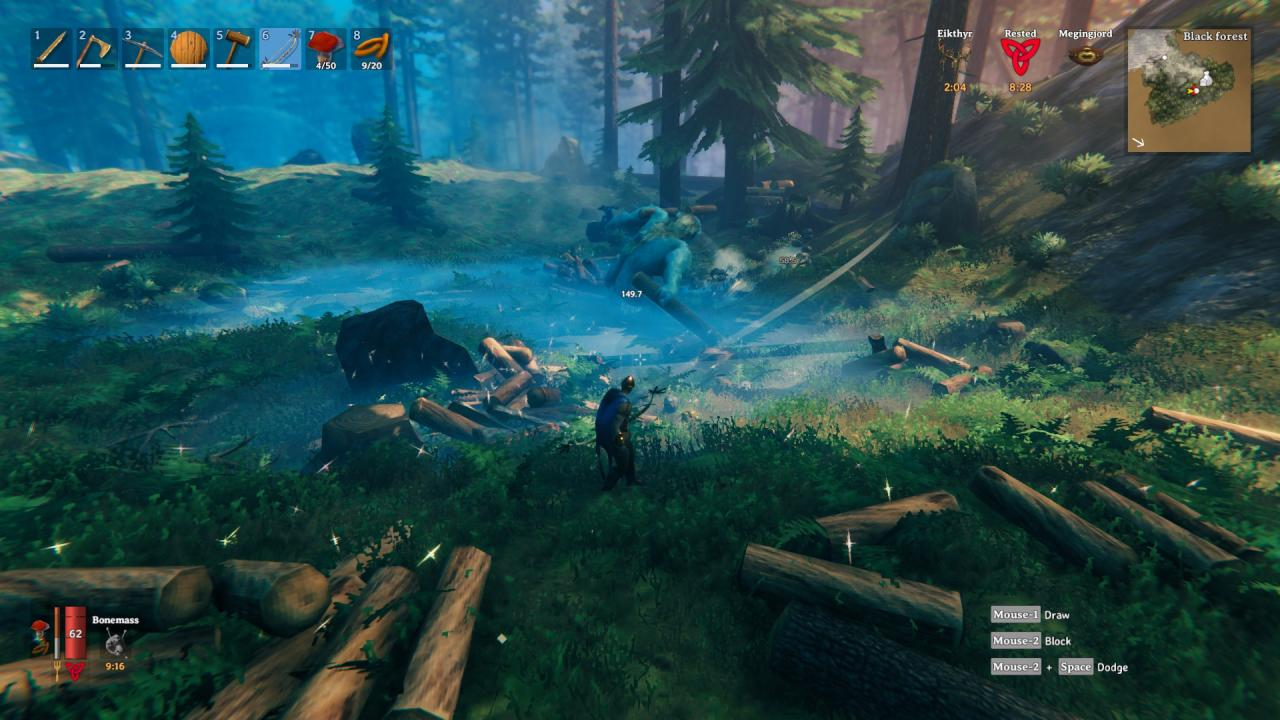 Valheim How to Farming Wood Fast and Easy