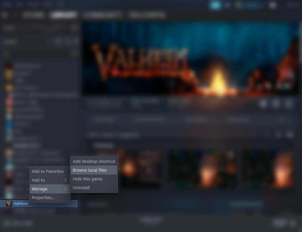 Valheim Simple Ccommands for FPS Boost