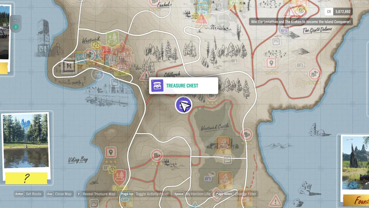 Forza Horizon 4 Fortune Island All Riddles and Treasure Chest Locations