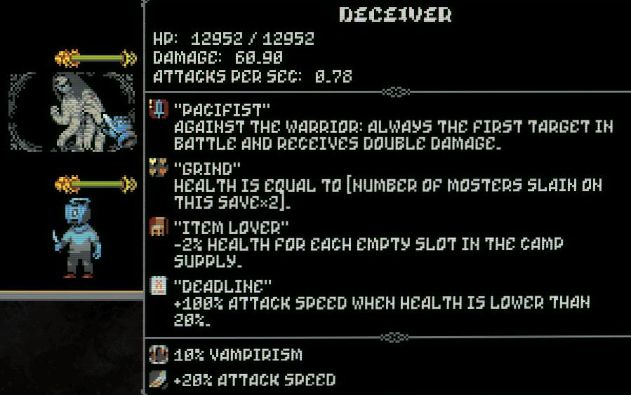 Loop Hero Information About the 4-Team Secret Boss