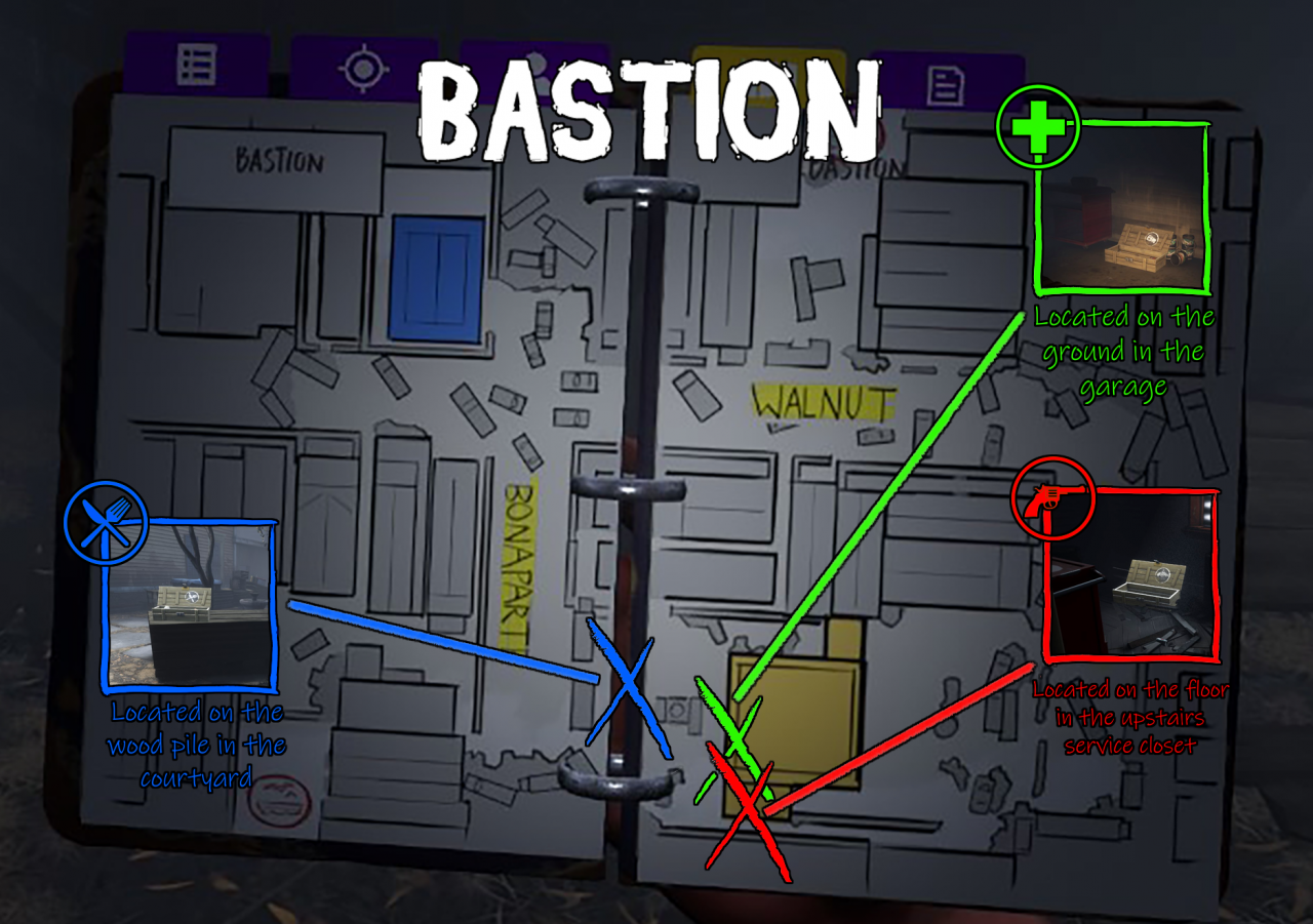 The Walking Dead: Saints & Sinners Cache Spawn Locations