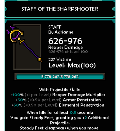 The Slormancer Complete Weapon Collection Guide