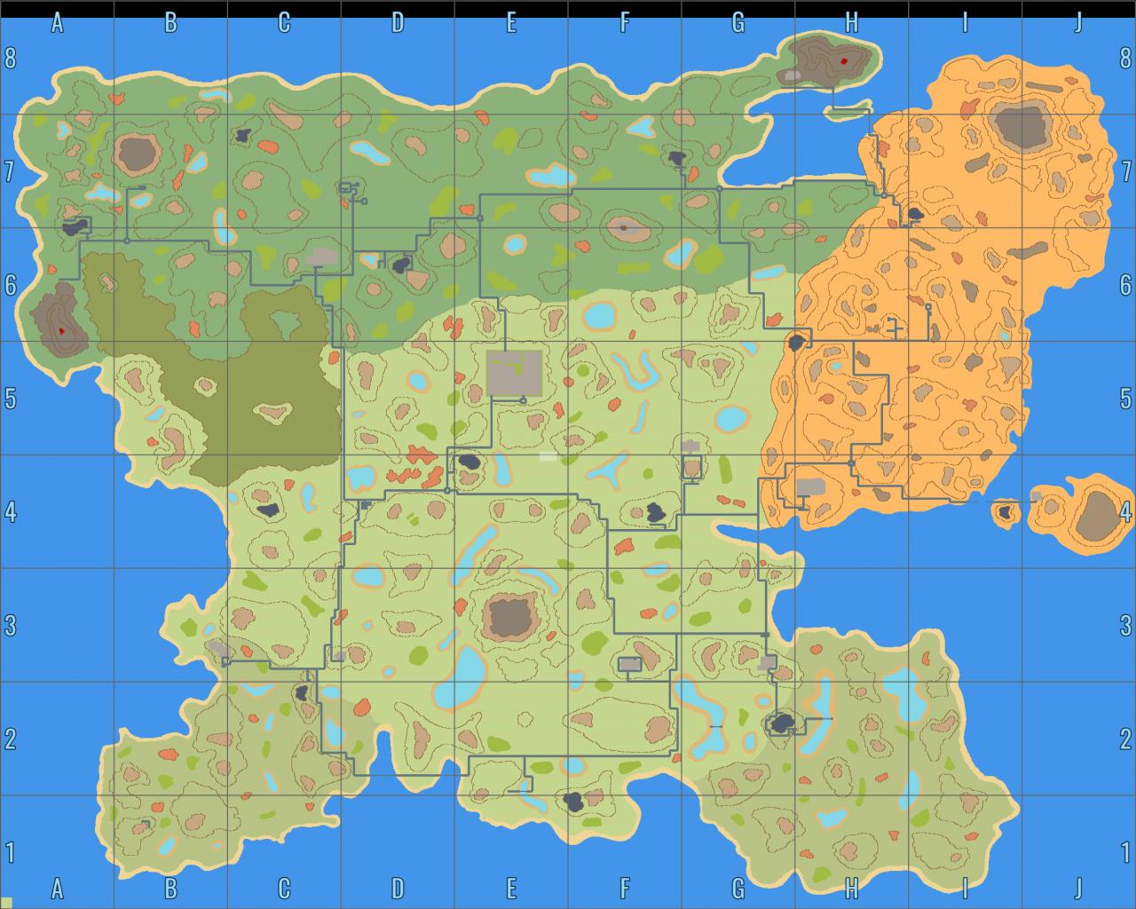 CryoFall: World Map (May 2021)