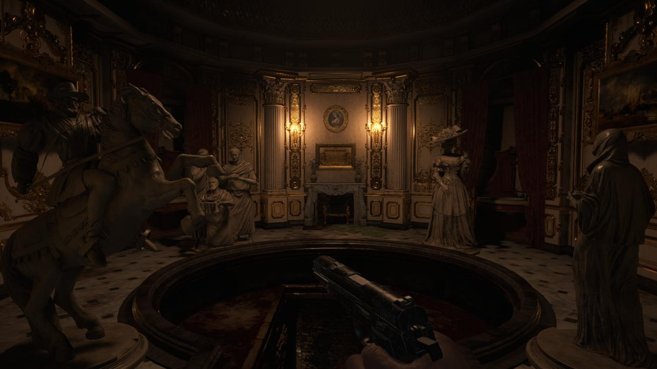 Resident Evil Village Hall of Ablution Statue Puzzle Guide