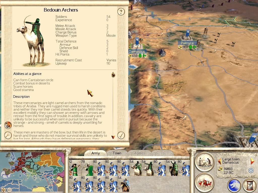 Total War: ROME REMASTERED Mercenary Tier List