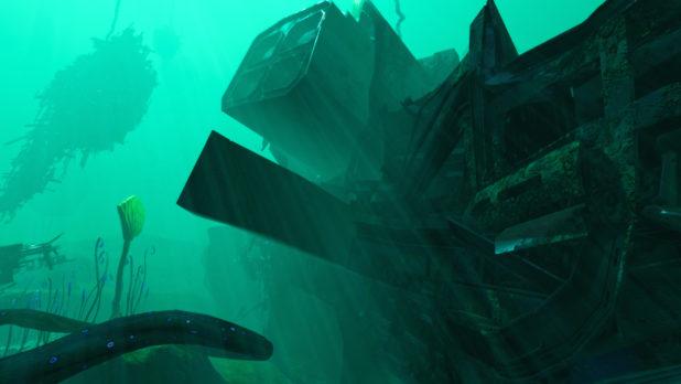 Subnautica Below Zero: Mercury II Bow Wreck Location