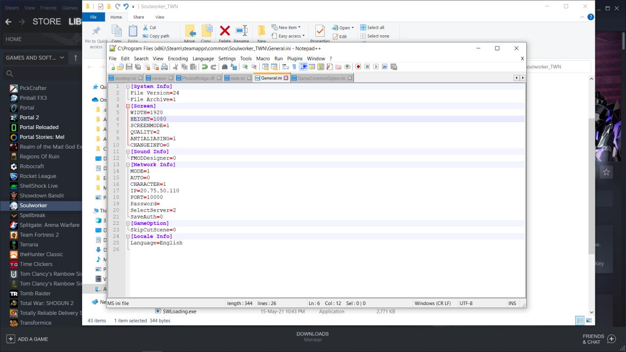 Soulworker How to Fix Fullscreen Screen Resolution