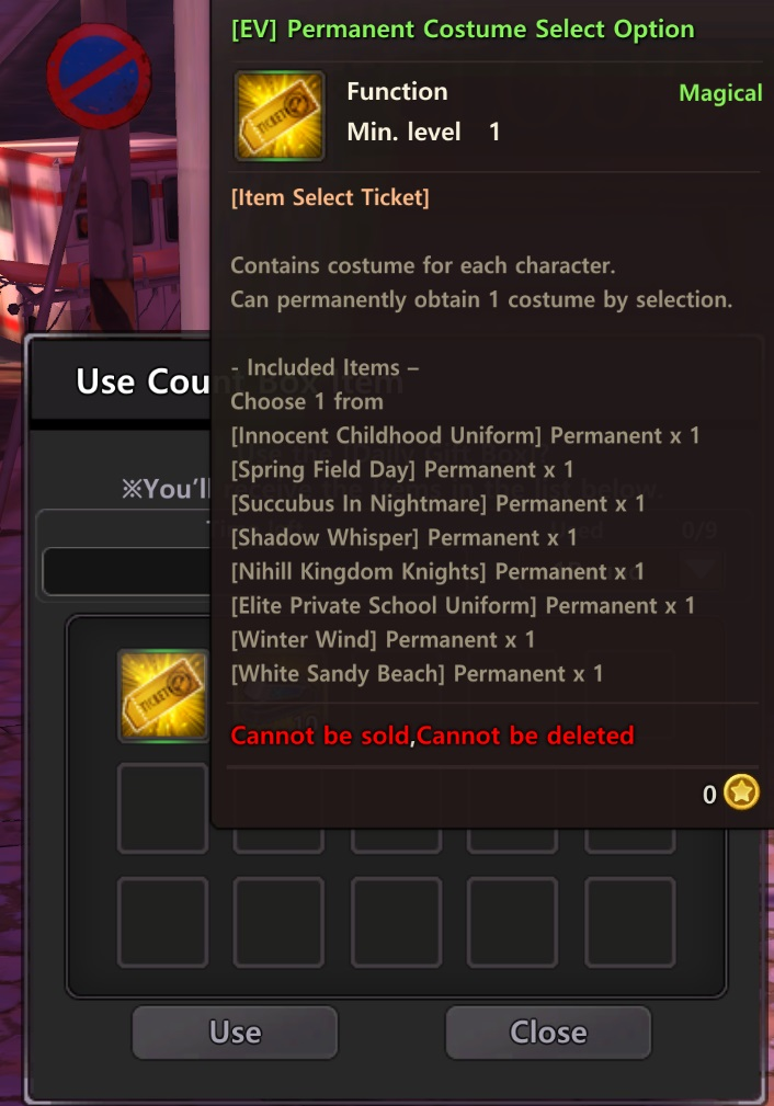 Soulworker Free Costume Ticket Guide