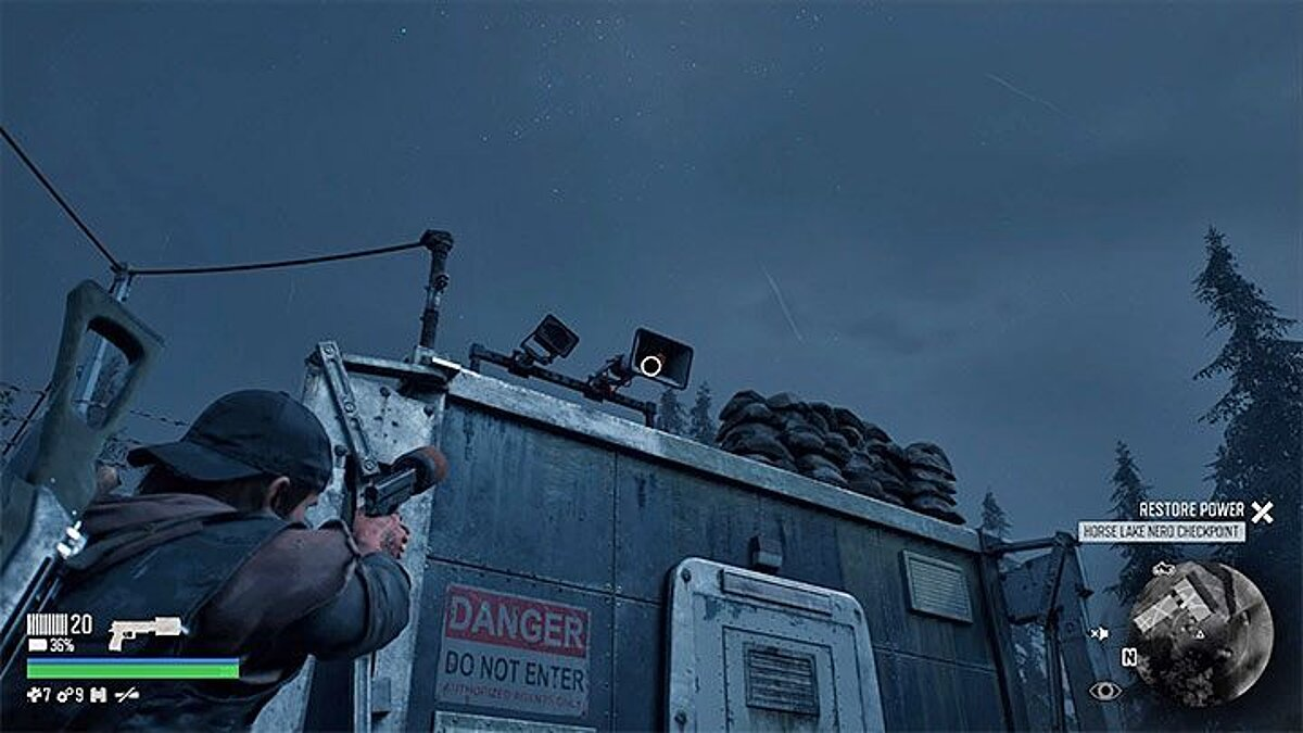 Days Gone How to Get Inside the Nero Checkpoint