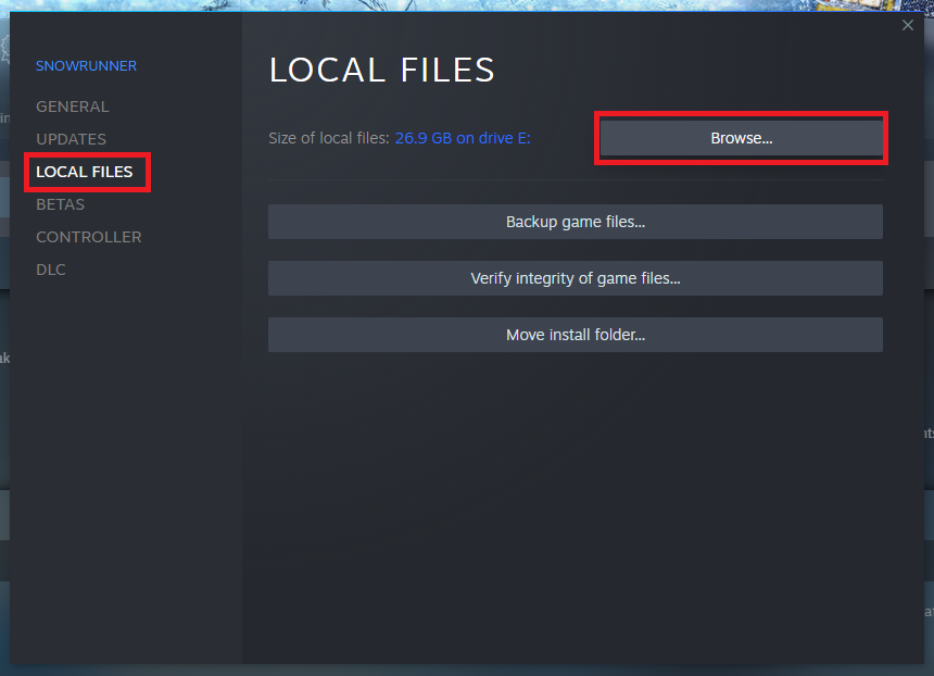 SnowRunner How to Install Mods Manually