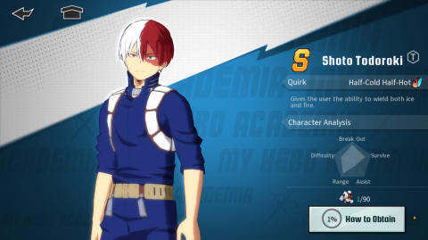 My Hero Academia: The Strongest Hero All Characters Tier List Guide