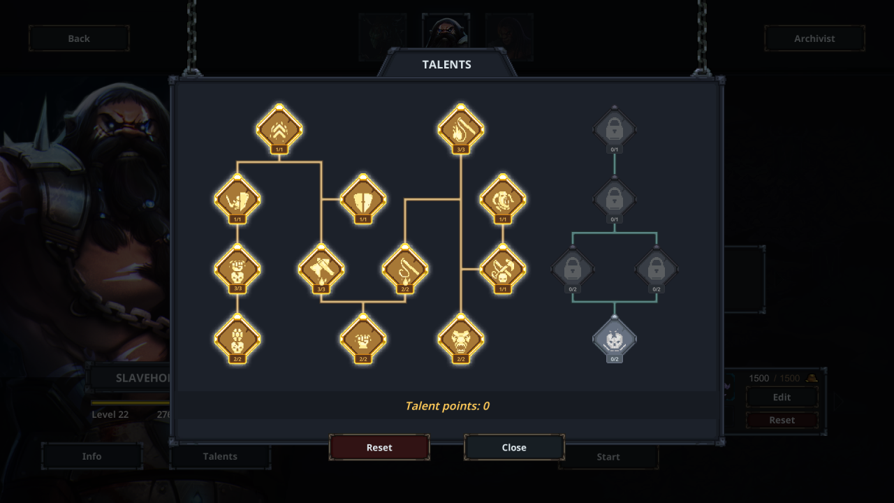 Legend of Keepers Ascension Mode Slavemaster Build (Morally Based )