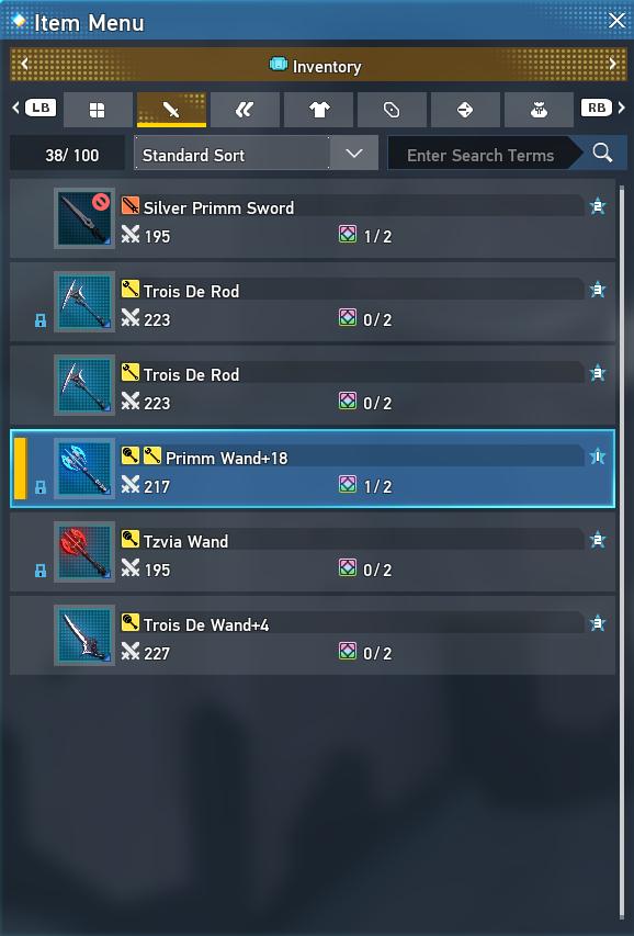 Phantasy Star Online 2 New Genesis Multi-Weapon Guide