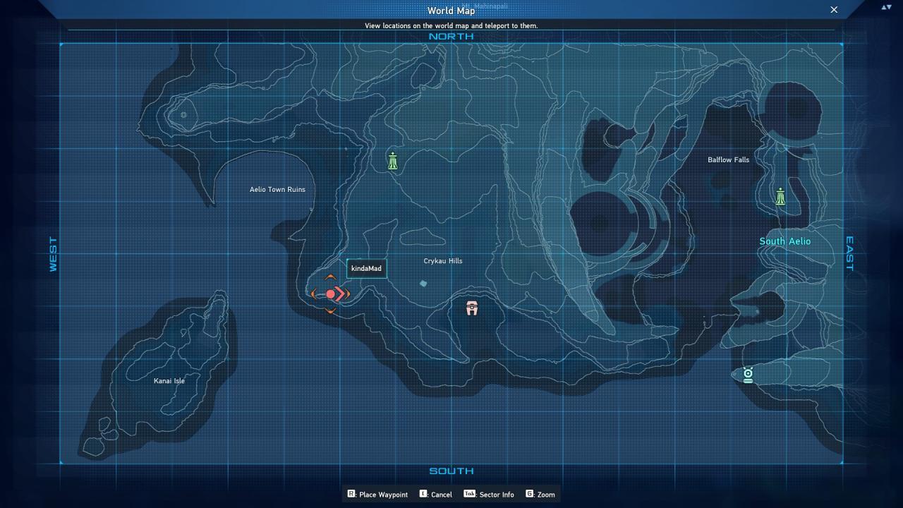 Phantasy Star Online 2 New Genesis Red Crate Locations