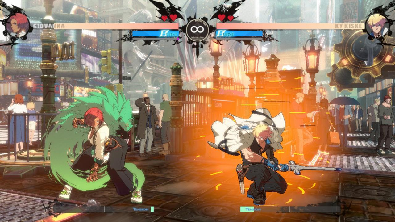 GUILTY GEAR -STRIVE- How to Remove the Bloom Bug Without Max Effects