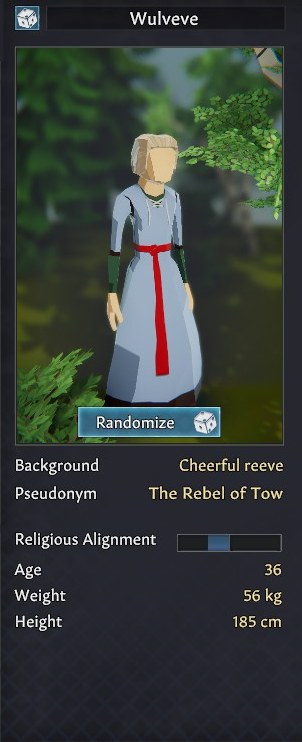 Going Medieval Advanced Character Creation Guide