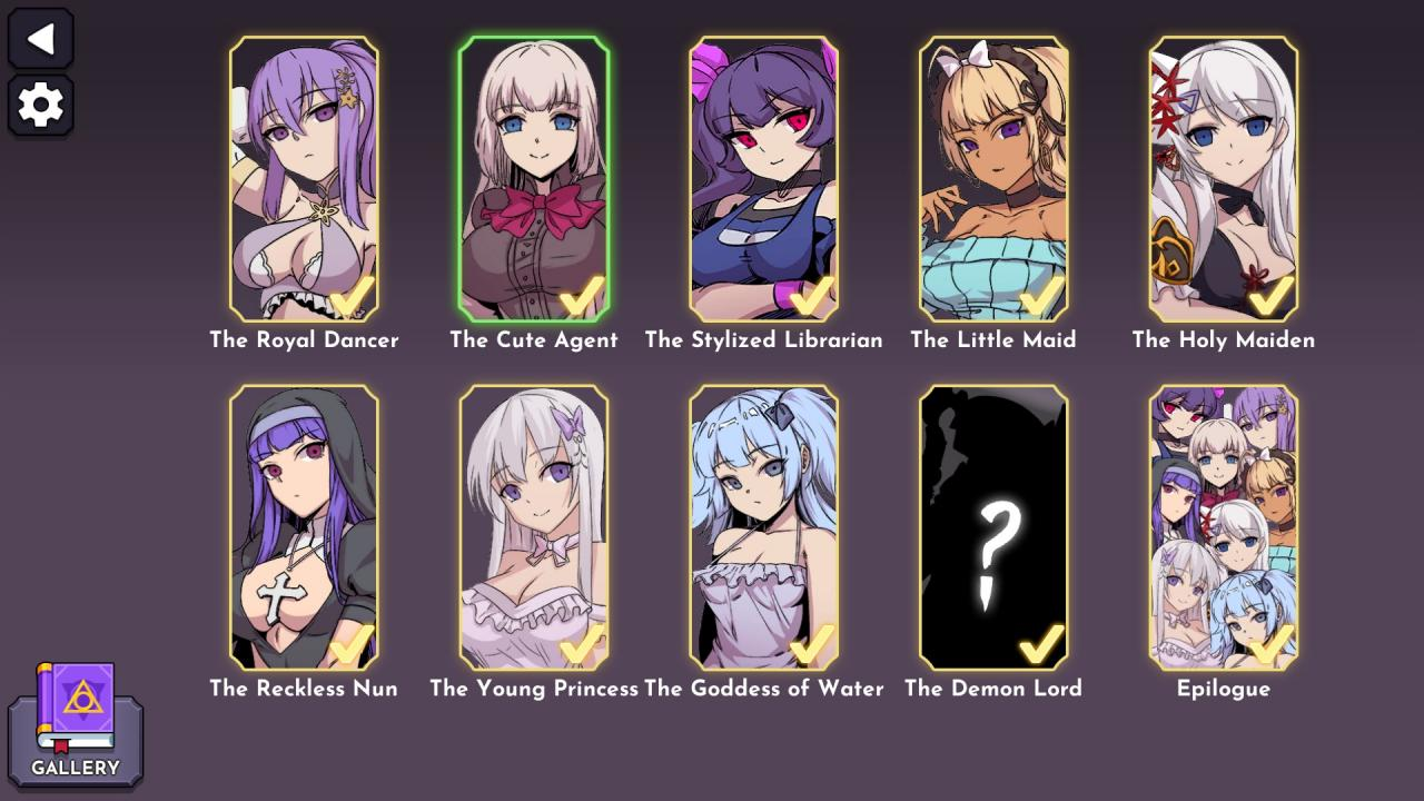 Tower of Waifus 2 100% Achievement Guide