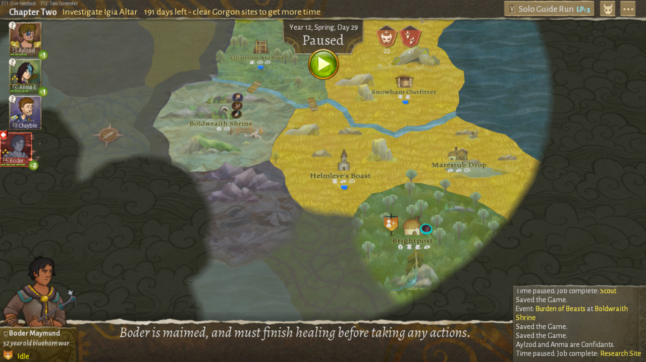 Wildermyth Guide for Age of Ulstryx