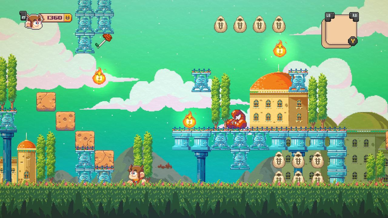 Alex Kidd in Miracle World DX All 15 Collectibles (Collector Achievement)