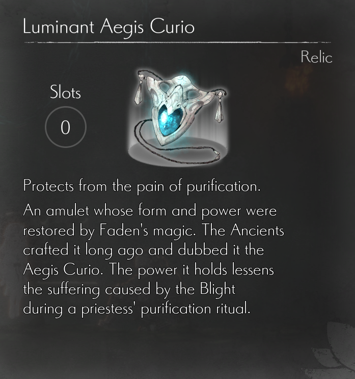 ENDER LILIES Complete Relics List (All 33 Relics)