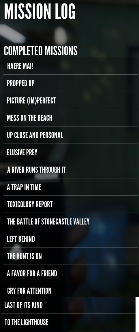 theHunter: Call of the Wild Complete DLC Maps Mission List Guide