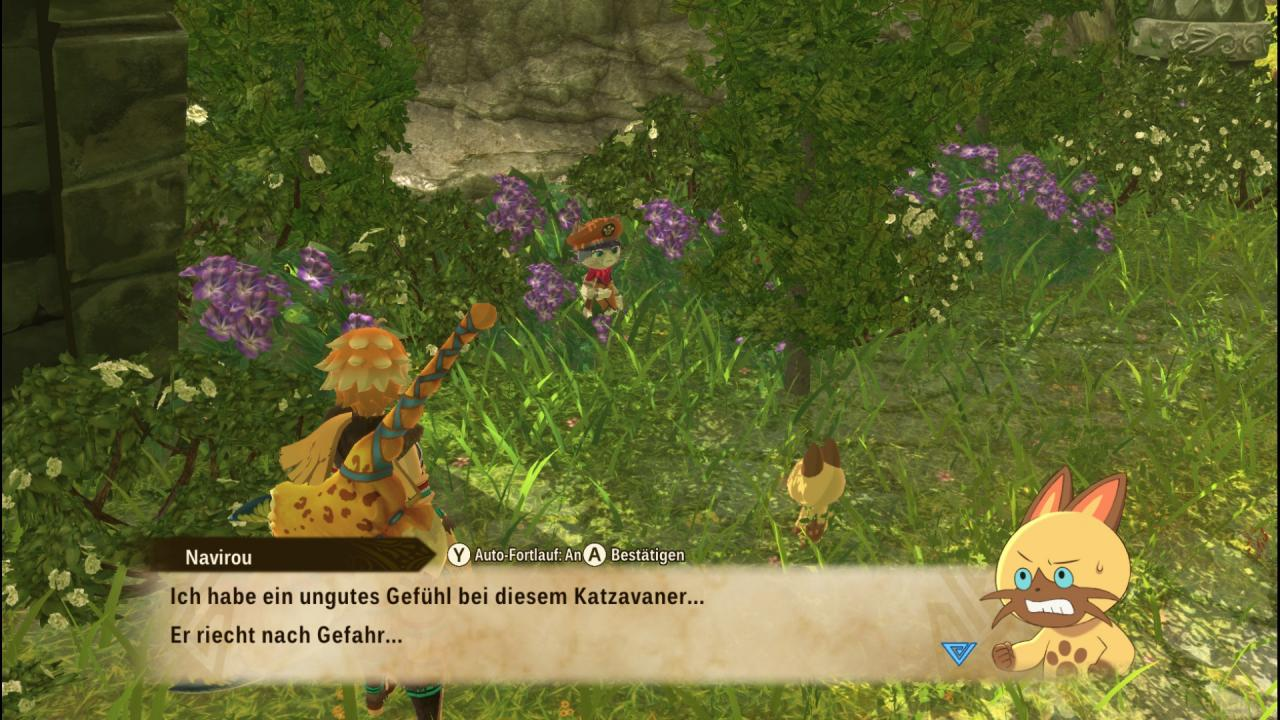 Monster Hunter Stories 2: Wings of Ruin Hiding Places For Tsukino