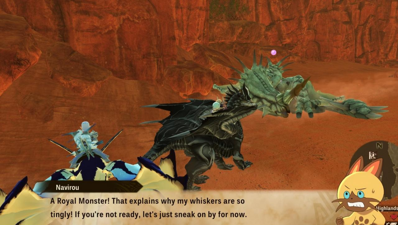 Monster Hunter Stories 2: Wings of Ruin Royal Monsters Locations, Weaknesses and Boosts