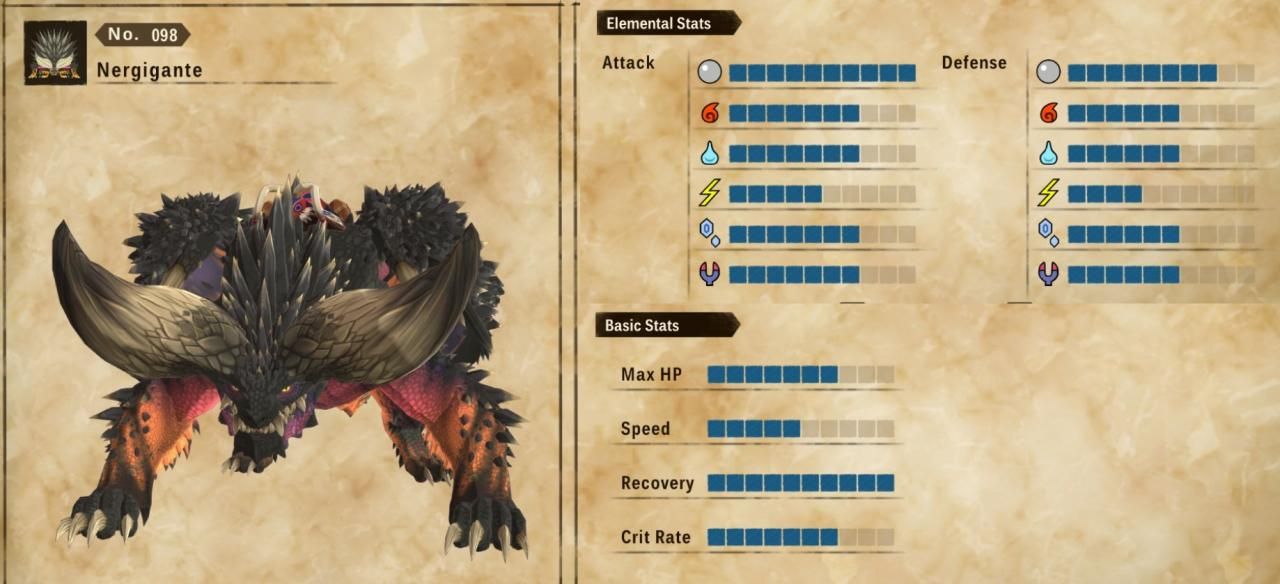 Monster Hunter Stories 2: Wings of Ruin Getting a Nergigante Before Post-game