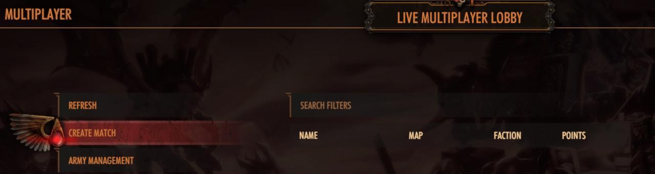 Warhammer 40,000: Battlesector Multiplayer Modes Explained