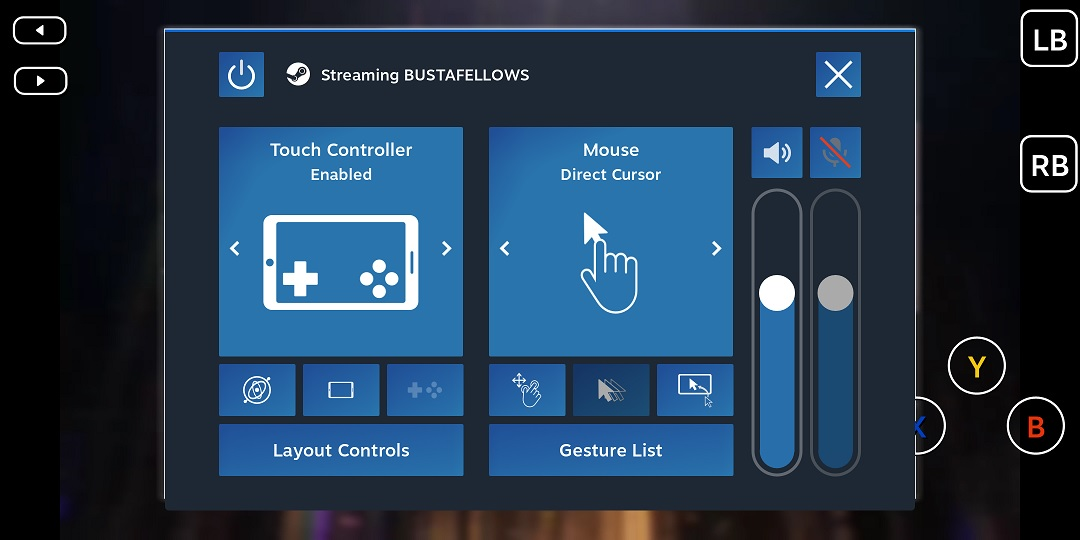 BUSTAFELLOWS Overriding Mouse and Keyboard Controls