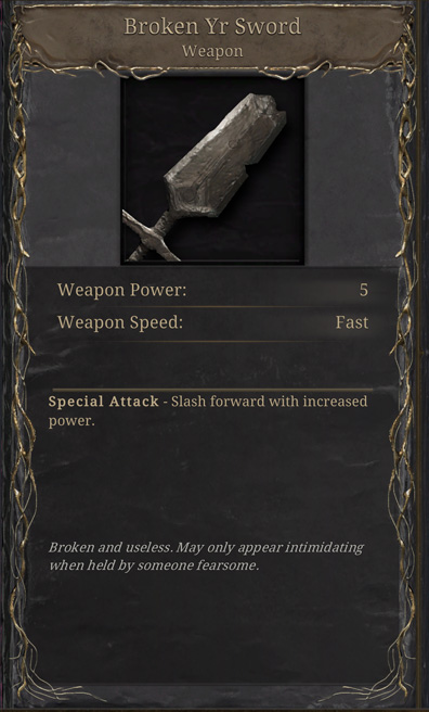 GRIME All Weapons List Guide