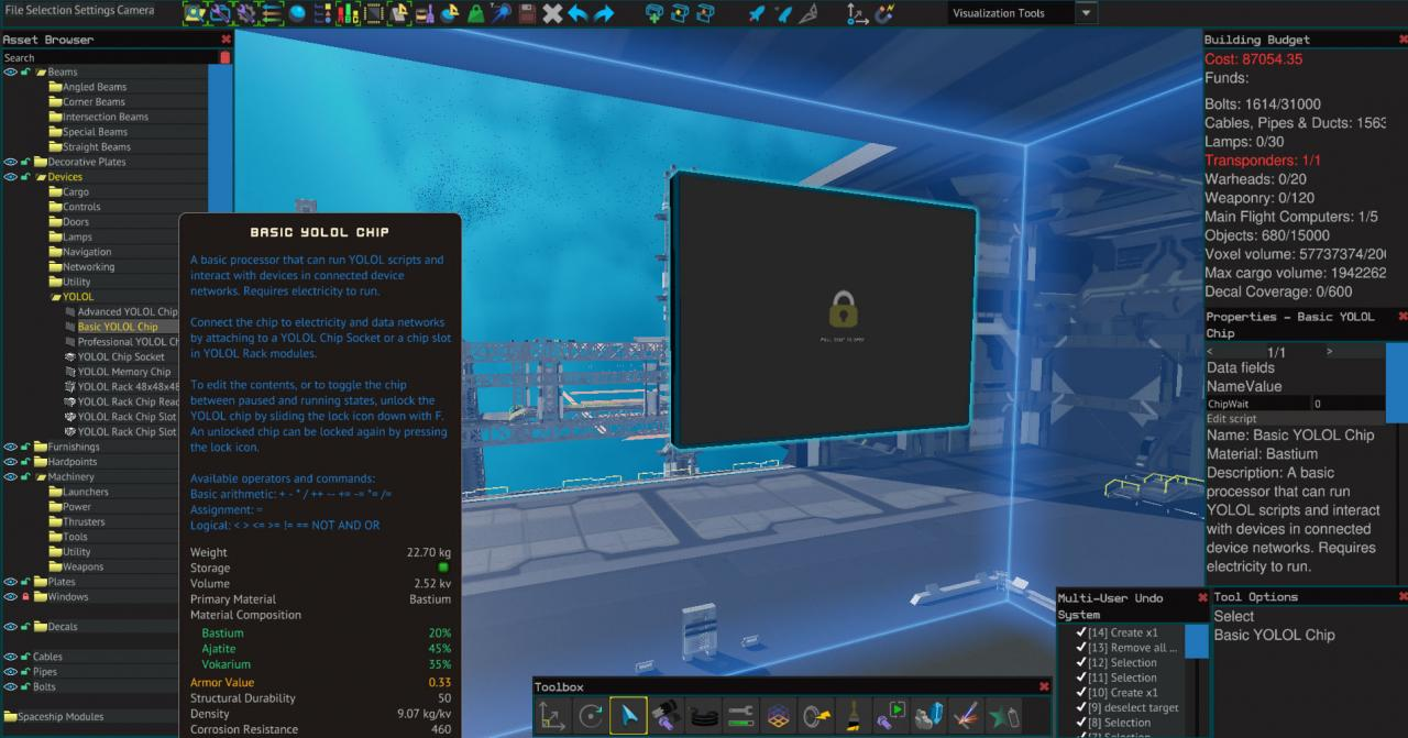 Starbase Automatic Generator Output with Basic YOLOL