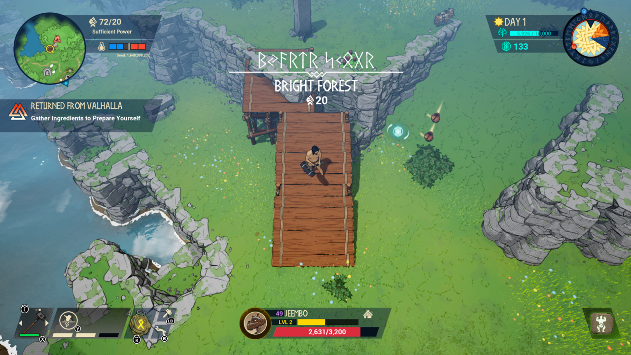 Tribes of Midgard How to Build Ramps