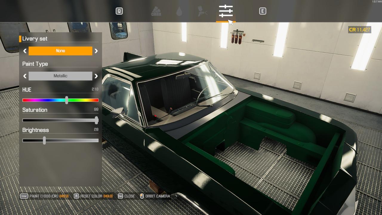 Car Mechanic Simulator 2021 Colour Matching Parts Guide