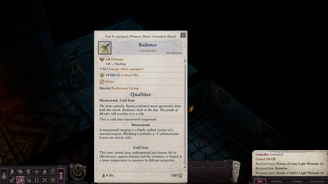 Pathfinder: Wrath of the Righteous Shield Maze Puzzle Solution