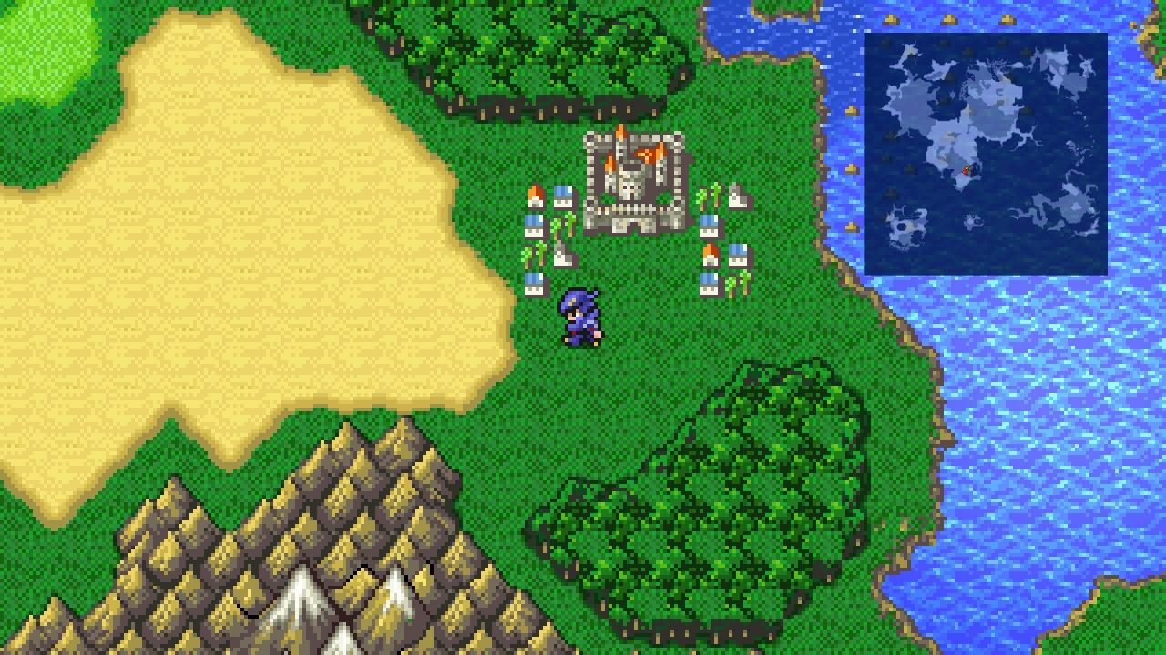 FINAL FANTASY IV How to Fix Forest Tile