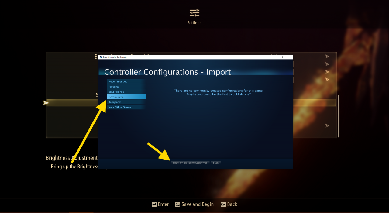 Tales of Arise How to Fix Controller Not Working