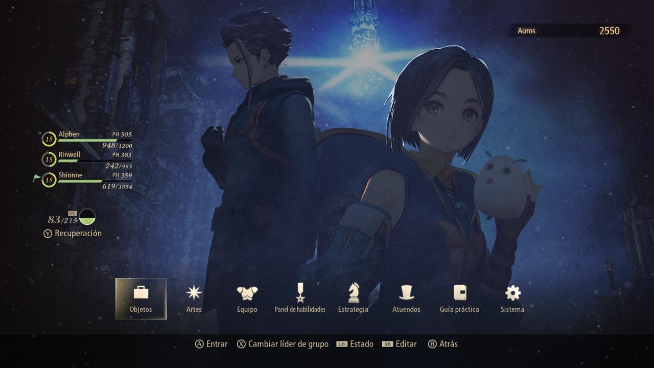 Tales of Arise How to Setup Combat Character