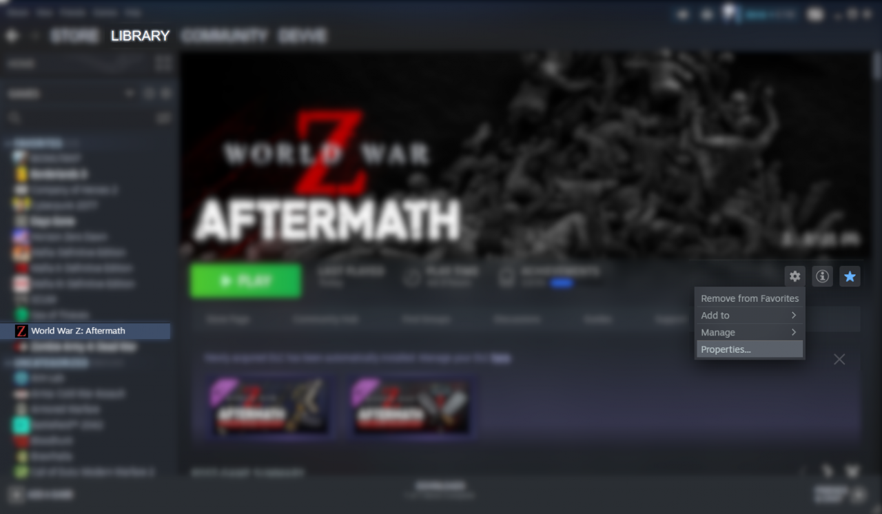 World War Z: Aftermath How to Fix Zeke Hunter and Explorer Weapons Pack