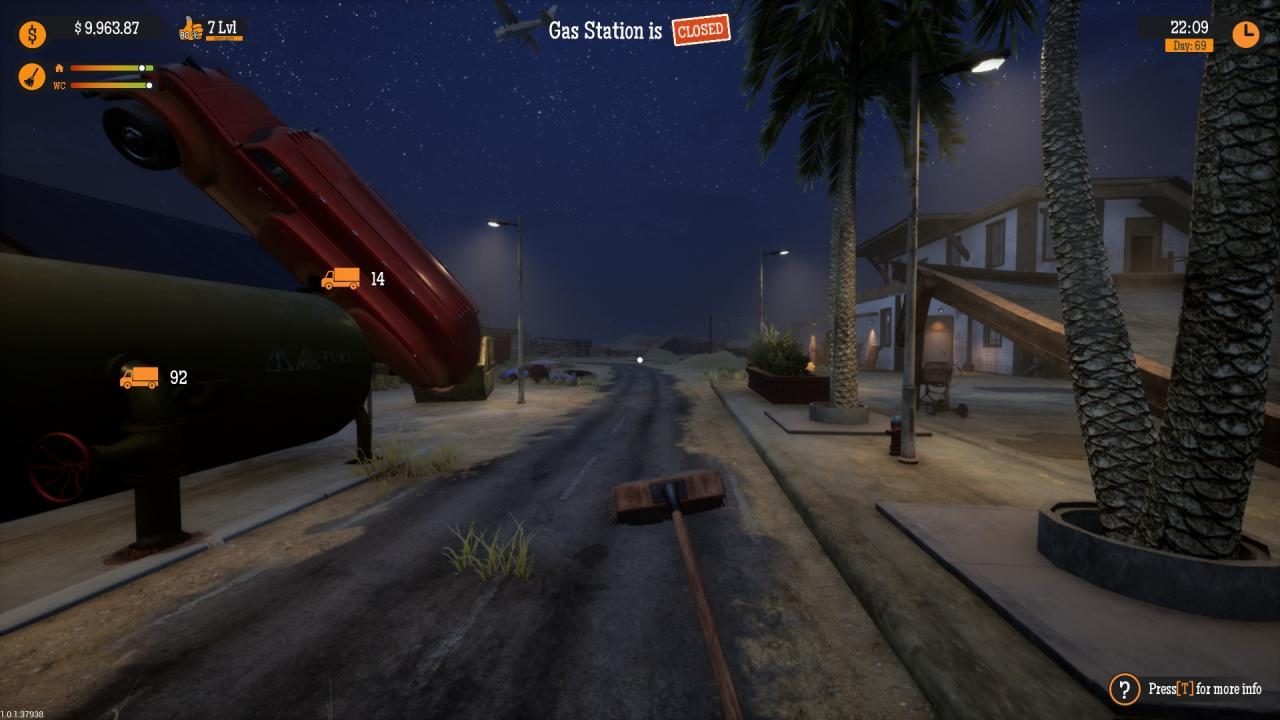 Gas Station Simulator How to Fix Problem with Broom
