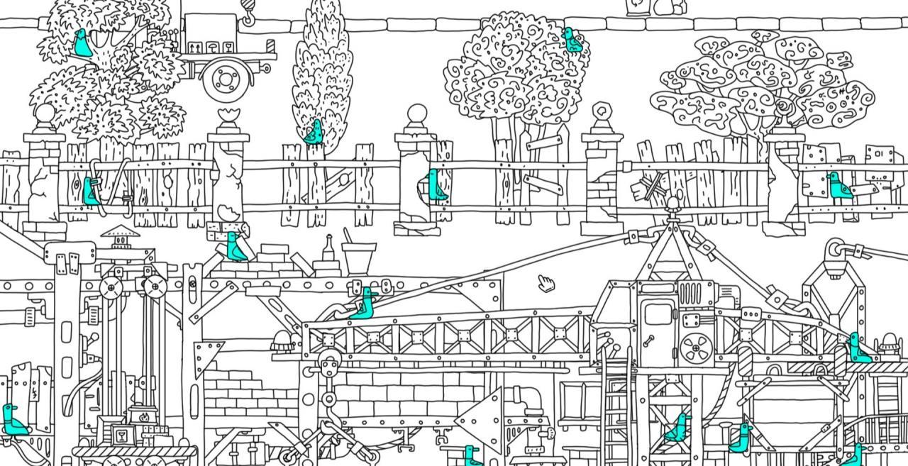 100 hidden birds 2 Complete Locations of All Birds
