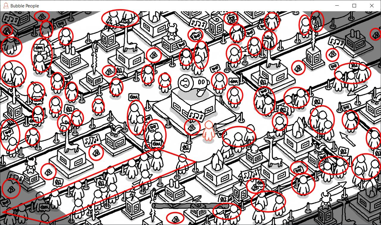 Bubble People 100% Walkthrough & Achievement Guide